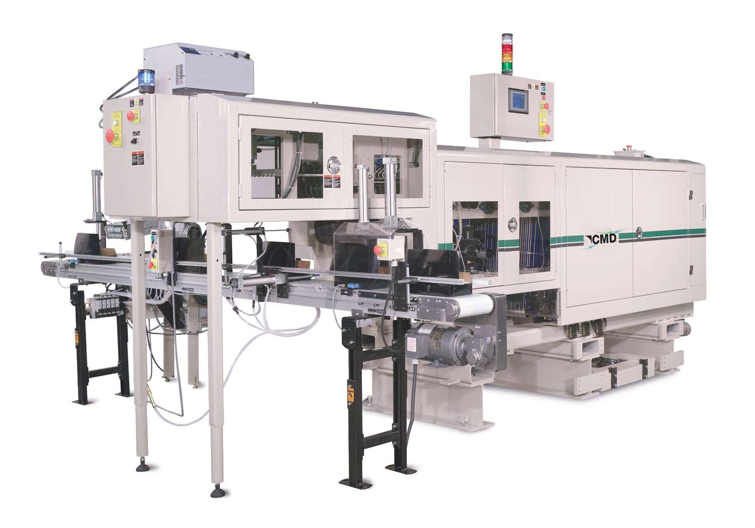 CMD Folder with Auto Stacker and Cross Conveyor