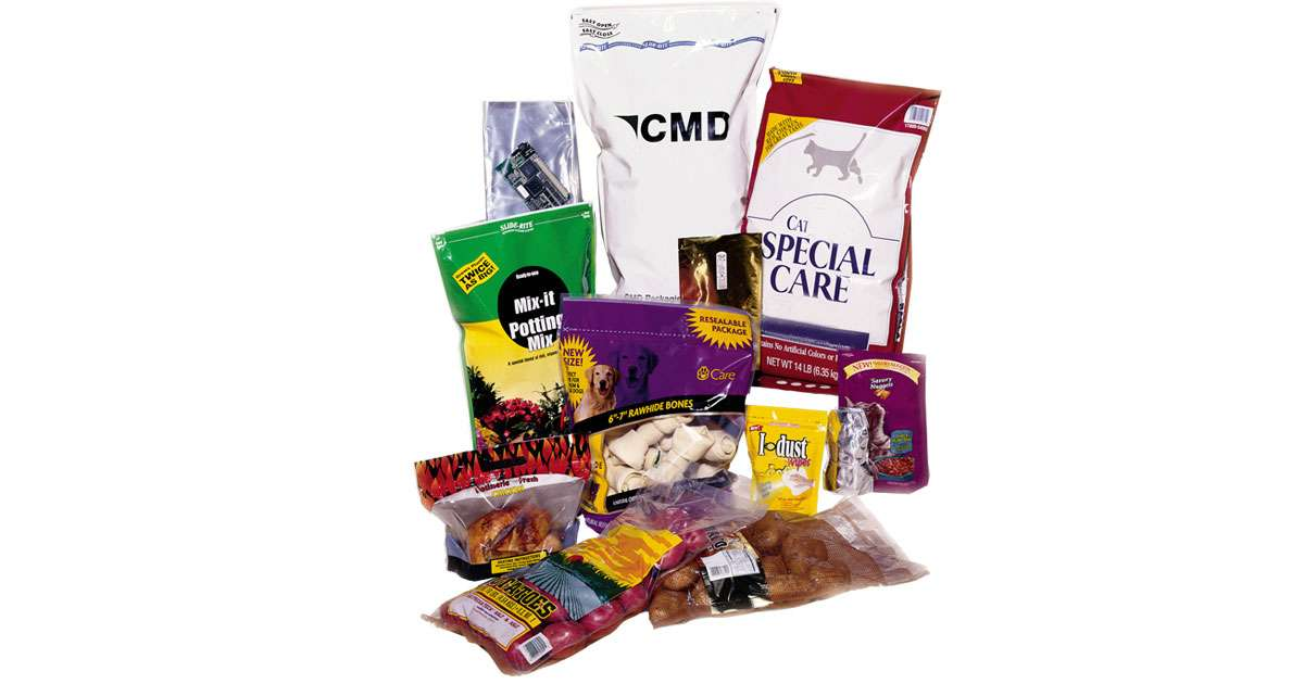 Produce a variety of high-quality stand-up and gusseted pouches