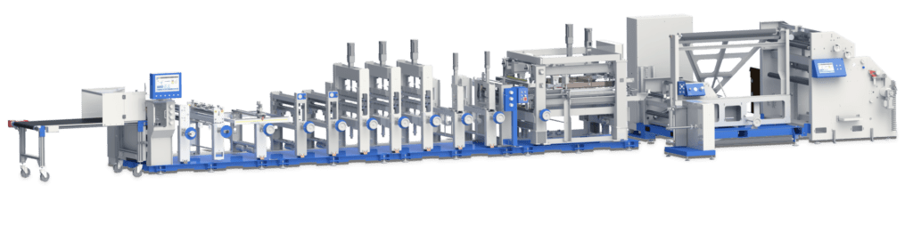 Machine to make stand up bag for packaging