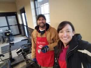 CMD volunteering for Salvation Army