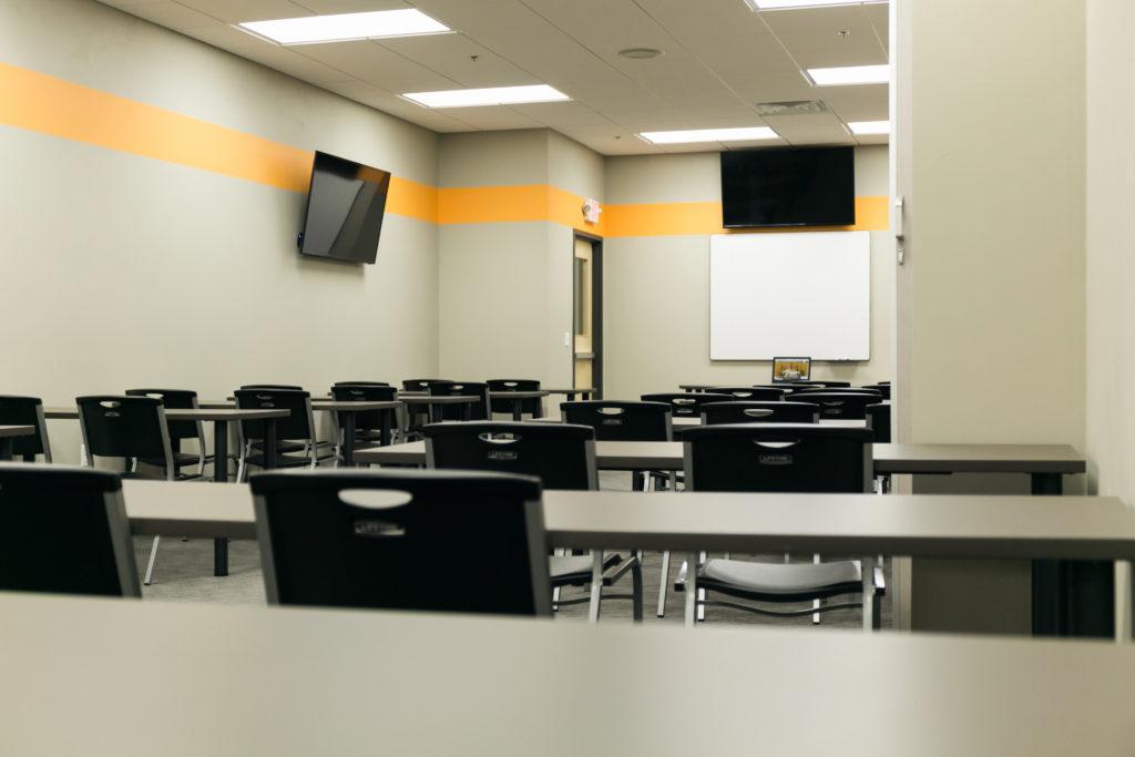 Studio Trigger Action Sports Classroom