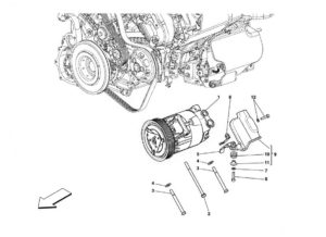 ferrari-458-air-conditioning-compressor-diagram