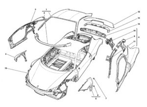 ferrari-458-body-outer-trim-diagram
