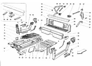 ferrari-458-central-side-elements-parts-diagram