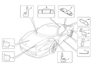 ferrari-458-insulations-parts-diagrams