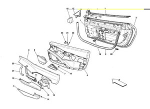 ferrari-458-door-panel-parts-diagram