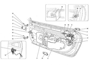 ferrari-458-door-handle-parts-diagram