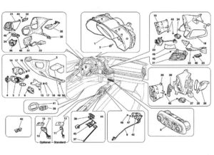 ferrari-458-italia-dashboard-center-console-instrument-parts-diagram