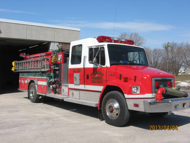 1996 Darley Midship on a FL60 Freightliner with a 1500 GPM Darley Pump
