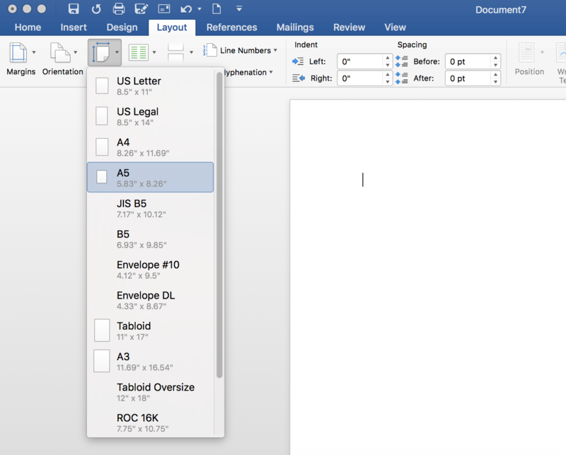 How to Format Your Word Document for Book Printing (on Mac or PC)