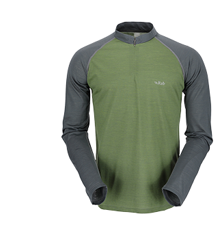 MERINO +™ 120 LONG SLEEVE ZIP