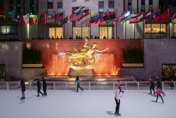 20181126-New York-Rockefeller Center Ice Skating Rink