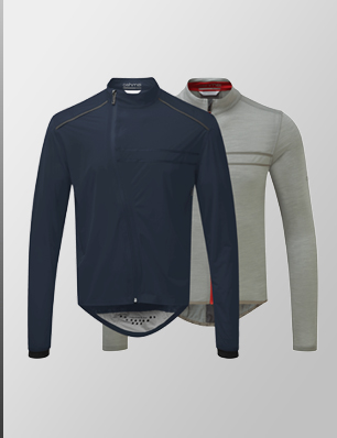 Waterproof Jacket + Long Sleeve Classic Jersey
