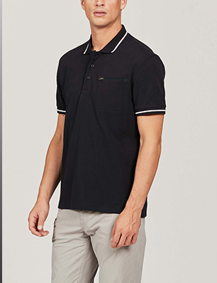 Pique Polo Shirt With Thermo-Regulation