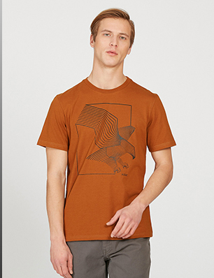 Screen Printed T-shirt With Thermo-Regulation