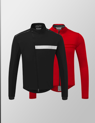 Softshell Jacket + Long Sleeve Classic Jersey