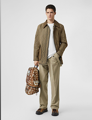 Diamond Quilted Thermoregulated Barn Jacket