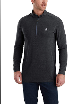 FORCE EXTREMES® HALF-ZIP LONG SLEEVE SHIRT