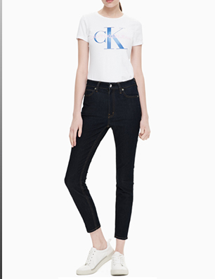 Women's High Waist Tight Jeans