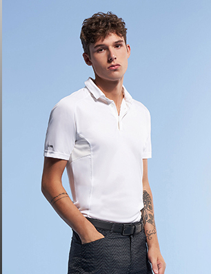 ASYMMETRICAL POLO SHIRT FOR RIGHT-HANDED PLAYERS