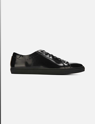 MEN'S KAM BOX LEATHER SNEAKER
