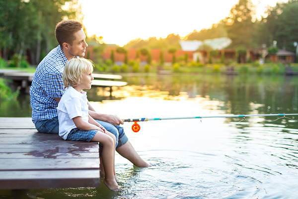fishinglicense.org blog: When to Fish With Your Children