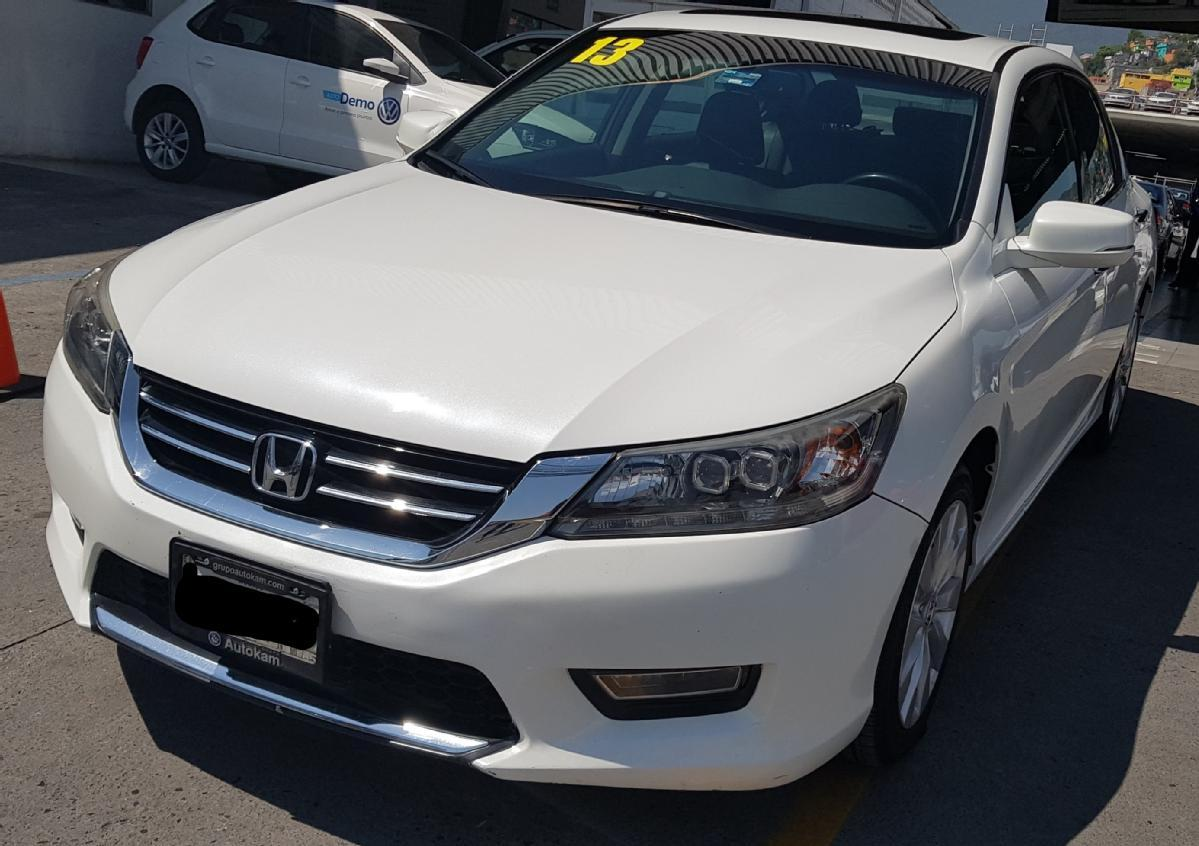 HONDA Accord 4p EXL sedan V6 piel ABS q/c CD CVT Nav