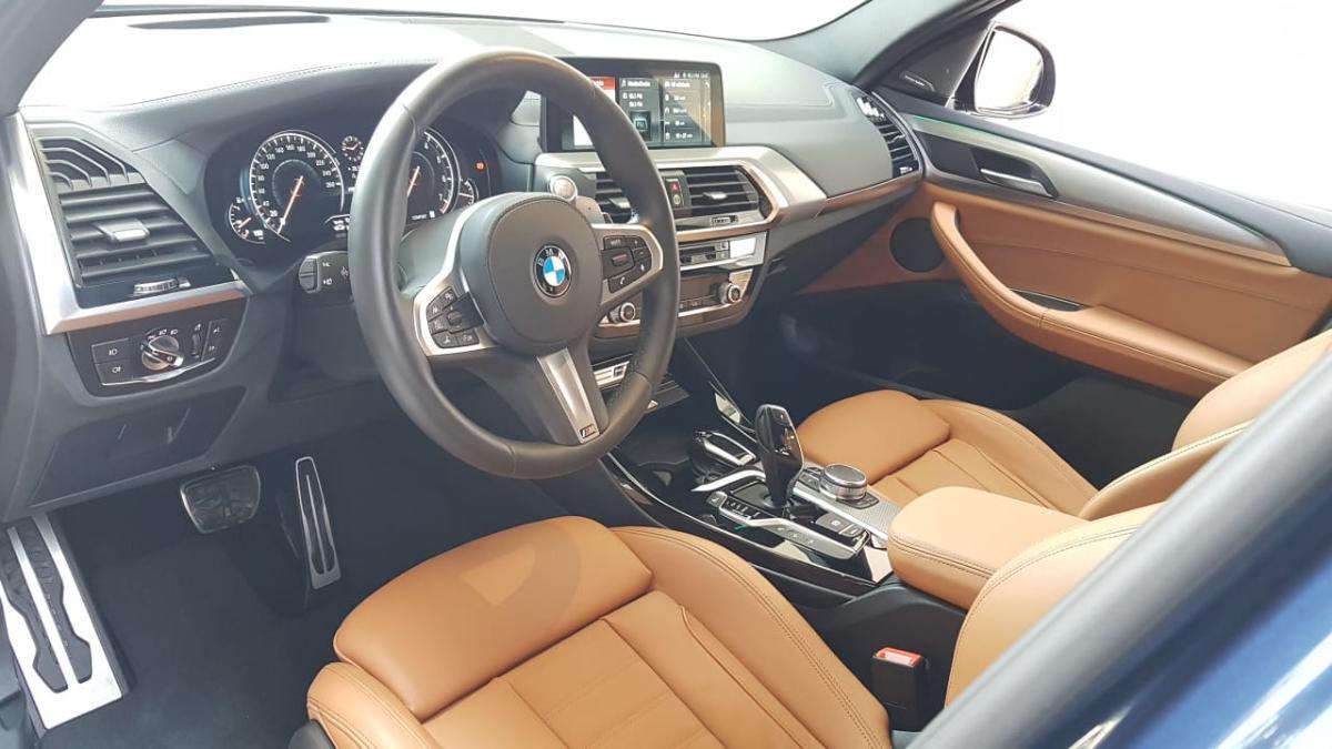 BMW X3 2018 5p xDrive M40i L6/3.0/ T Aut 9,843 Km 11