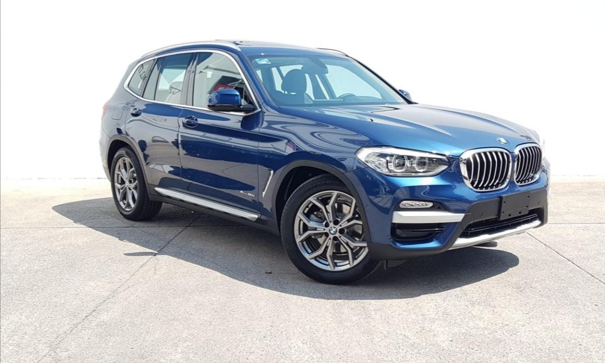 BMW X3  2018 XDRIVE 30i XLINE  8,426 Km 0