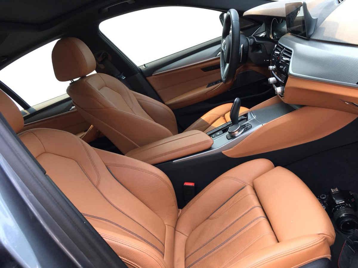 BMW Serie 5 2018 4p M550i V8/4.4/T Aut 11,658 Km 9