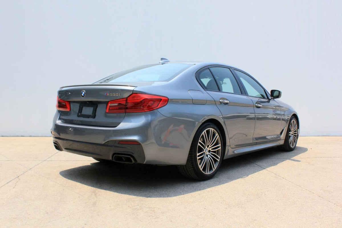 BMW Serie 5 2018 4p M550i V8/4.4/T Aut 11,658 Km 7