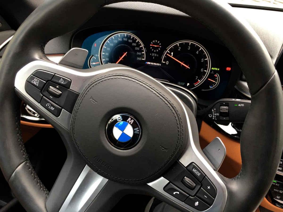 BMW Serie 5 2018 4p M550i V8/4.4/T Aut 11,658 Km 20