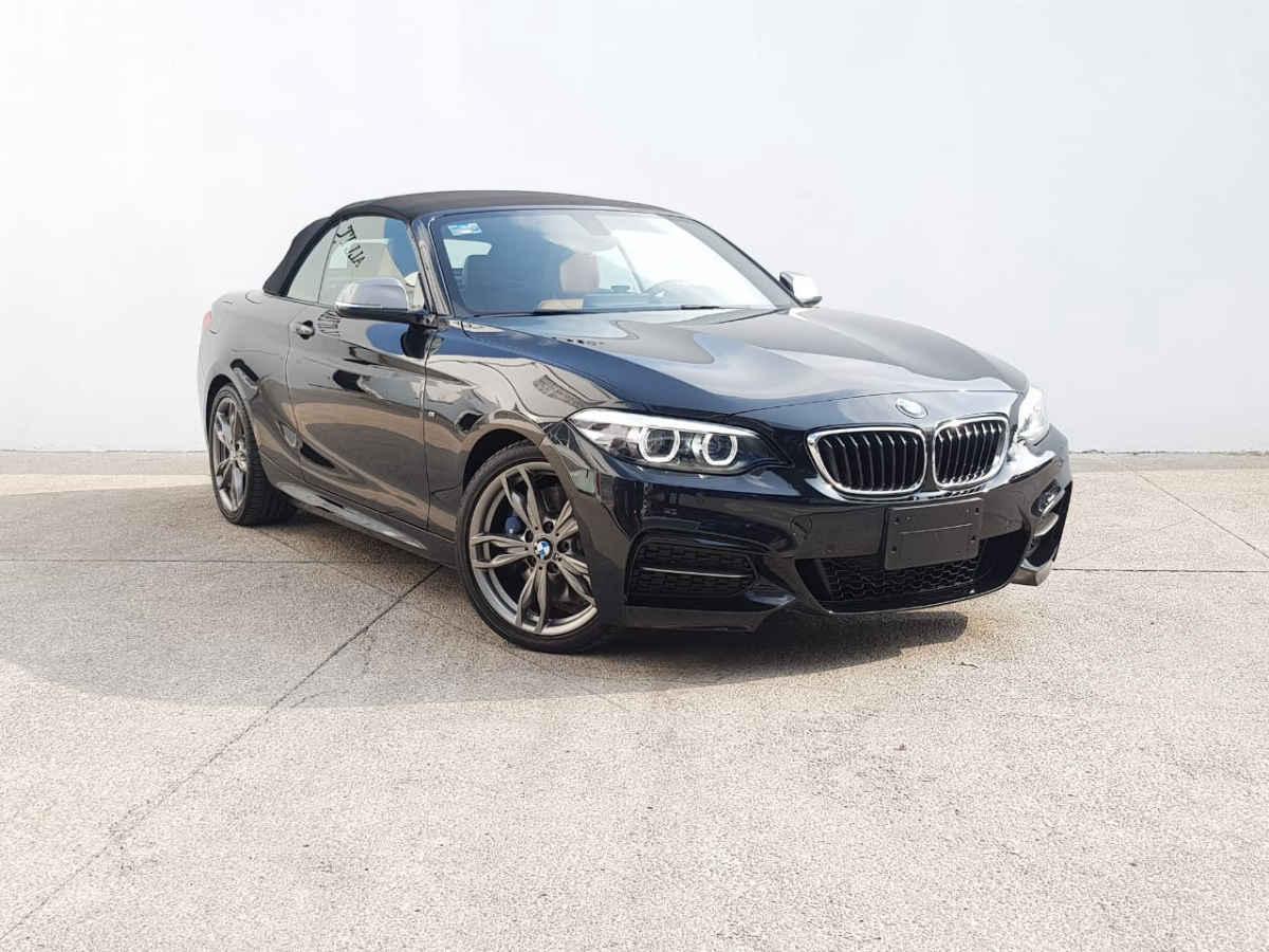 BMW Serie 2 2018 2p M240i Convertible M Sport  L4/3.0/T Aut 3,548 Km 1