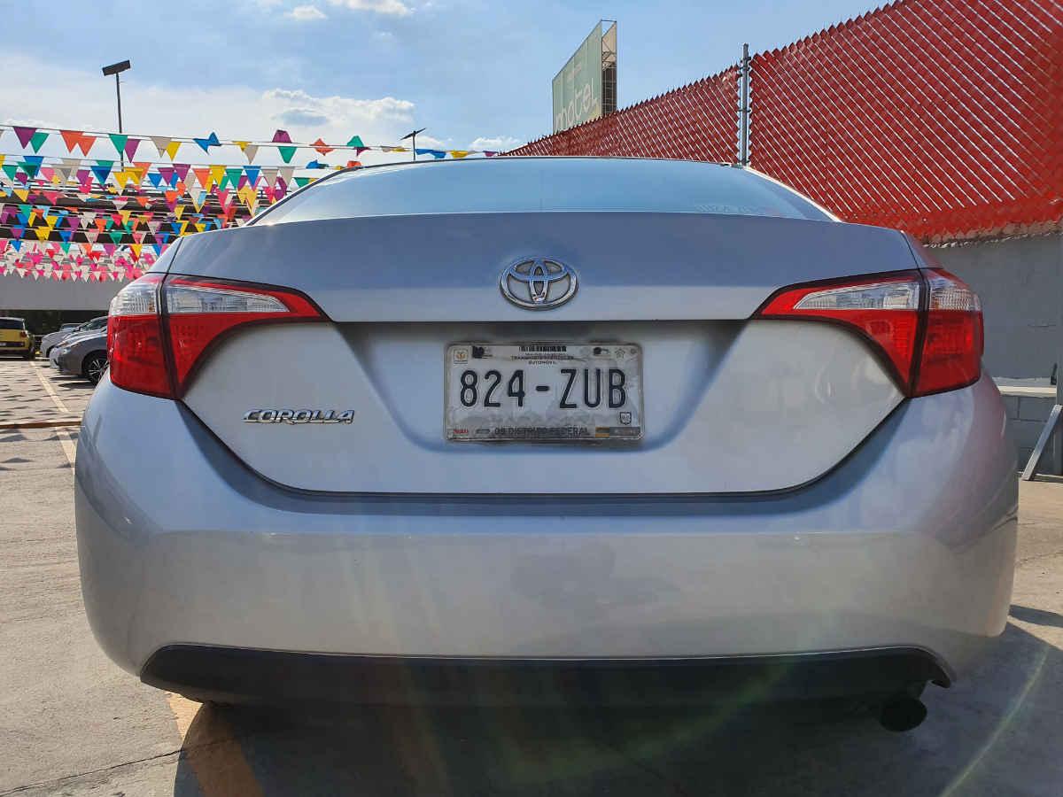 Toyota Corolla 2014 4p Base L4/1.8 Man 86,000km 5