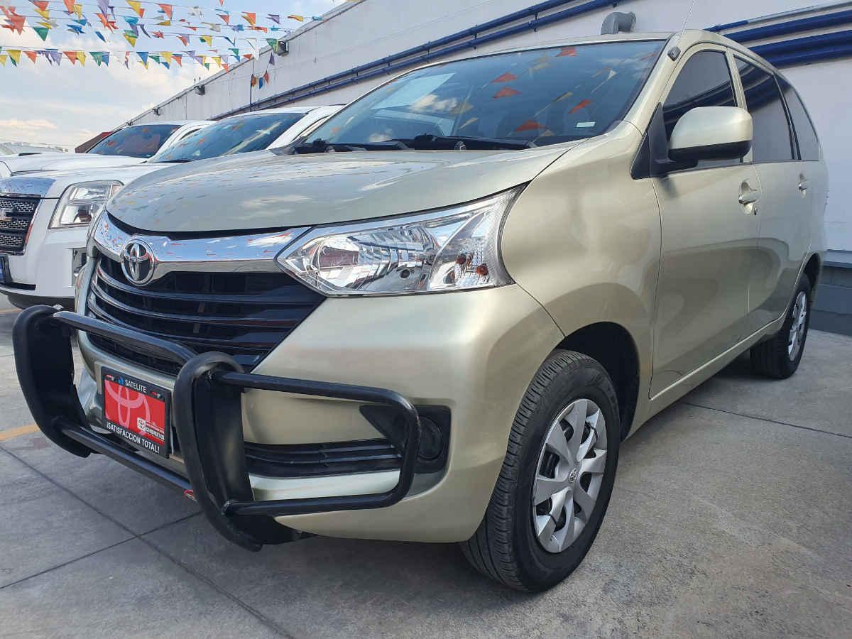 Toyota Avanza 2018 5p LE L4/1.5 Aut 52,000km 0