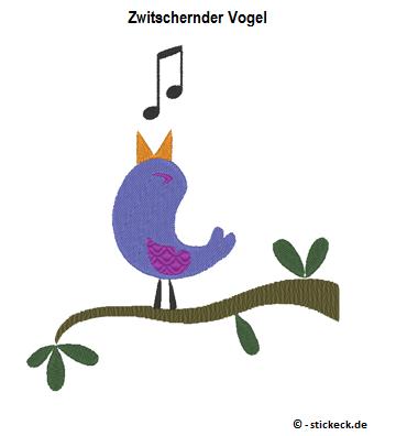 20170307 - Zwitschernder Vogel - stickeck.de