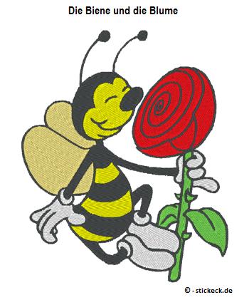 20170320 - Die Biene und die Blume - stickeck.de