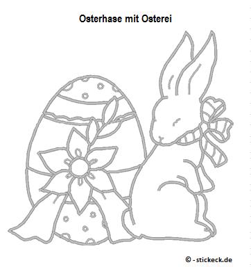 20170331 - Osterhase mit Osterei - stickeck.de
