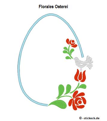 20170402 - Florales Osterei - stickeck.de