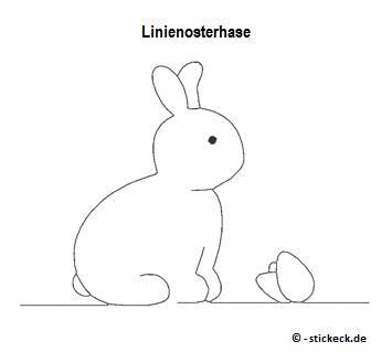 20170411 - Linienosterhase - stickeck.de
