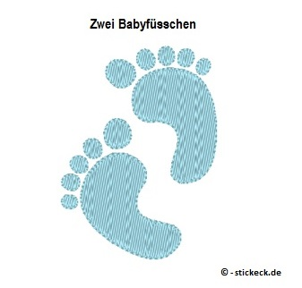 20170418 - Zwei Babyfuesschen - stickeck.de