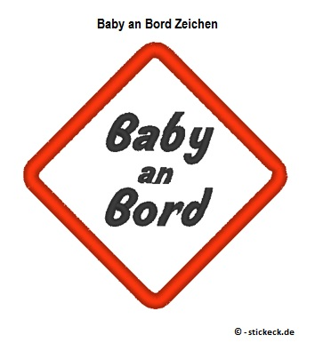 20170419 - Baby an Bord Zeichen - stickeck.de