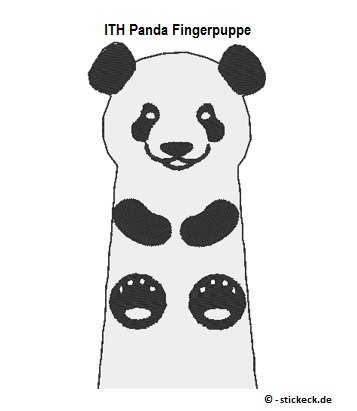 20170427 - ITH Panda Fingerpuppe - stickeck.de