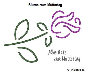 20170502 - Blume zum Muttertag - stickeck.de