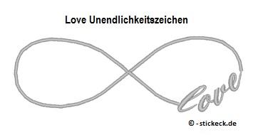 20170504 - Love Unendlichkeitszeichen - stickeck.de