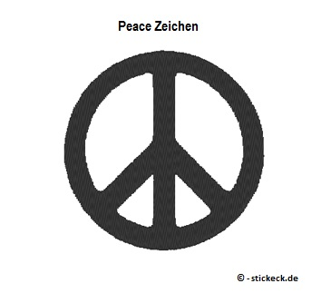 20170507 - Peace Zeichen - stickeck.de