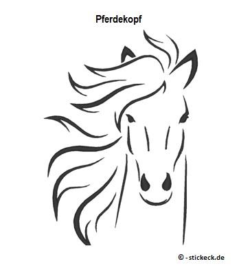 20170510 - Pferdekopf - stickeck.de