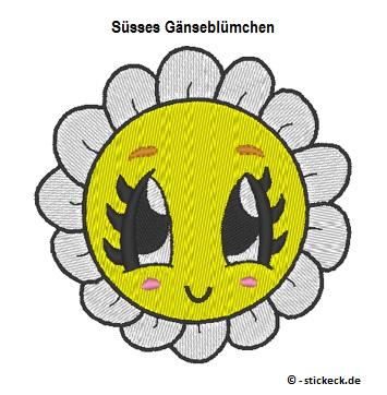 20170512 - Suesses Gaensebluemchen - stickeck.de