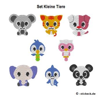 20170513 - Set Kleine Tiere - stickeck.de