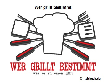 20170515 - Wer grillt bestimmt - stickeck.de